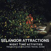 Selangor Attractions Night Time Activities
